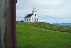 Malagawatch United Church, Highland Village, Iona, NS (70 pieces)