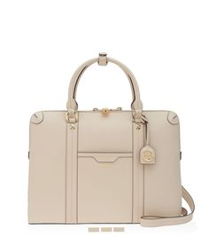 <p>The West 57th Briefcase belongs in every business-minded Bendel Girl's luxury handbag collection. Designed with the modern professional woman in mind with Saffiano leather, custom Henri Bendel details and a dedicated laptop compartment, this chic designer handbag is not your mother's briefcase.</p>