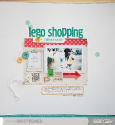 Lego Shopping by marcypenner at @Studio_Calico
