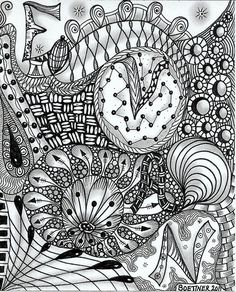 Evan's name tangle by carolynboettner, via Flickr