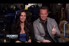 """Courteney Cox will be appearing on Matthew Perry's 'Go On"""""""