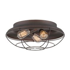 shop millennium lighting 3 light ceiling flush mount at loweu0027s canada find our selection of flush mount ceiling lights at the lowest