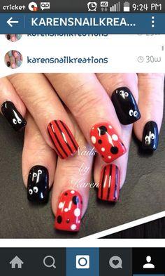 Disney Villain Nail Art Nails Pinterest Disney Villains And Makeup