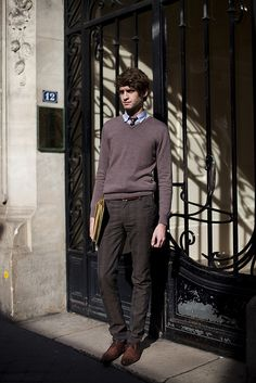 parisian men,their shoes, and fitting clothing