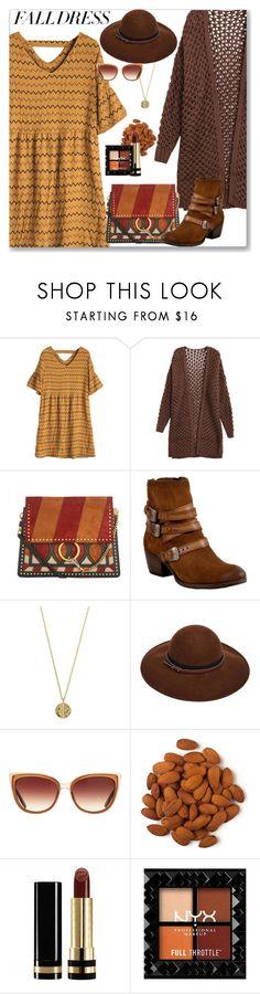 """Fall Dress"" by kays-fashion-escape ❤ liked on Polyvore featuring Chloé, Miz Mooz, Senso, ASOS, Barton Perreira, Gucci, polyvorecontest, falldress, polyvorefashion and falldresses"