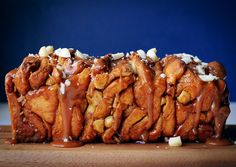 Salted Caramel and Macadamia Pull-Apart Bread | The Sugar Hit