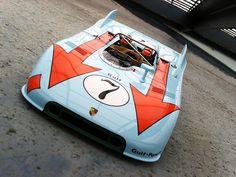 Porsche 908 team Gulf - Gulf +Porsche = Killer Combo by Autobellissima, via Flickr