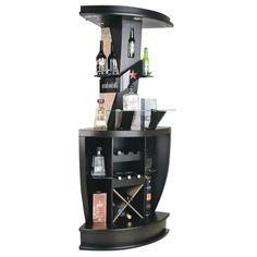 Bar Cabinet Furniture, Home Bar Cabinet, Home Bar Furniture, Wine Bottle Glass Holder, Wine Bottle Storage, Glass Rack, Diy Home Bar, Diy Bar, Bars For Home