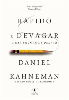 O vencedor do Nobel de Economia Daniel Kahneman nos mostra as formas que controlam a nossa mente em Rápido e devagar, as duas formas de pensar: o pensamento rápido, intuitivo e emocional e o devagar, lógico e ponderado. Daniel nos mostra a capacidade do pensamento rápido, sua influência persuasiva em nossas decisões e até onde podemos ou ...