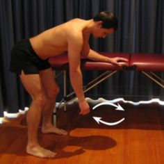 Exercises for a Labral Tear of the Shoulder - Pendular Circles