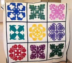 The Art of Hawaiian Quilting - I find it so visually appealing.