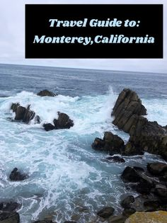 Travel Guide to Monterey, California! Everything you need to know on your trip to Monterey. Old Fisherman, Cannery Row, Save The Whales, Whale Watching Tours, Save Our Oceans, Monterey California, Monterey Bay Aquarium, Beautiful Ocean, Beach Town