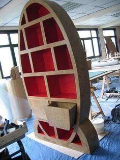 Look! More Cardboard Furniture Creations