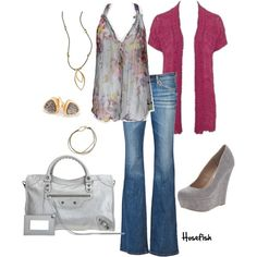 """""""Grey"""" by hosefish on Polyvore"""
