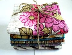 pretty fabrics! Different Types Of Fabric, Softies, Decorative Boxes, Fabrics, Gift Wrapping, Rainbow, Trending Outfits, Heart, Unique Jewelry