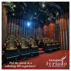 Feel the movie in a rollicking 11D experience! #RajhansFeriado