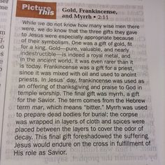 The first #Christmas #gifts were given to the greatest Gitft ever---Jesus Christ our #Messiah---and they were each pricy objects with great meaning.  #men #women #season #Christians #teaching #Bible #time #God #Jesus #world #earth #learning #parents #family #marriage #national #kids #teenagers #December #gold #frankincense #myrrh #fragrance #perfume #oil #essential #essentialoil #rich #cross #meaning #symbolism #bitter #sweet #strong