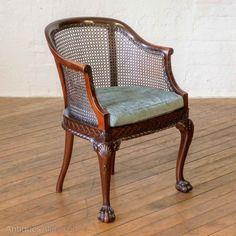 ~ Victorian Mahogany Carlton House Desk ~ antiques-atlas.com