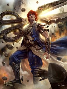 Kai Fine Art is an art website, shows painting and illustration works all over the world. Fantasy Warrior, Fantasy Male, Fantasy World, Character Inspiration, Character Art, Character Design, Dnd Characters, Fantasy Characters, Dragon Knight