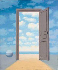 Image result for MAGRITTE DOORWAY