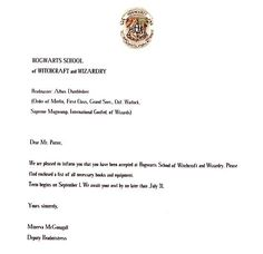 How to Write a Harry Potter Acceptance Letter: 6 Steps - wikiHow