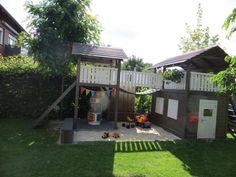 OBI Selbstgemacht! - Spielhaus mit Wackelbrücke, Turm und Sandkasten - Selbstgemacht! Community