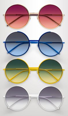 Innovative designs and bold hues set the mood for the newest summer #eyewear styles from @marcjacobs  #sunglasses