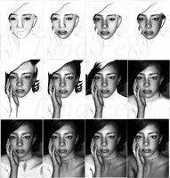 Procedural steps of Robyn by ~Tunaferit on deviantART