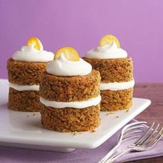Carrot Cupcakes with Fluffy Cream Cheese Frosting - Diabetic Friendly