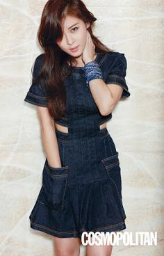 Ha Ji Won Cosmopolitan March 2016