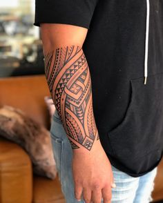 Forearm wrap for ! First tattoo and took it like a champ . Tribal Band Tattoo, Tribal Forearm Tattoos, Tattoo Band, Cool Tribal Tattoos, Armband Tattoo Design, Forarm Tattoos, Tribal Sleeve Tattoos, Forearm Tattoo Design, Hand Tattoos