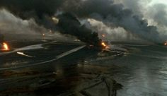 """"""" Lessons of Darkness (Werner Herzog, """" How can I comment on such a gorgeous piece of alien documentary? Herzog takes images of the Kuwaiti oil fires in the aftermath of the Gulf War and. Alien Documentary, Documentary Filmmaking, Werner Herzog, Best Director, Fictional World, End Of The World, Lotr, Cinematography, Science Fiction"""