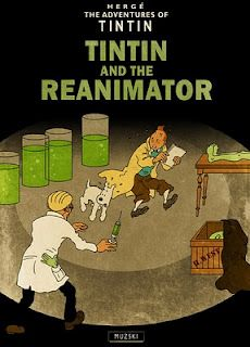 Tintin and the Reanimator (Only Cover)