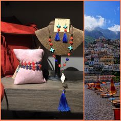 This #collection has us #dreaming of a #Mediterranean #Vacation! Can you blame us? #Love #JFY #travel #style #orange