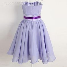 Simple Sweetheart Ruched Knee-Length Prom/Homecoming Dress 2