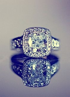 Such a gorgeous ring! Engagement ring???