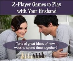Looking for two-player games to play with your husband or wife? Here's a list of great two person games to play as a couple--or with a best friend.
