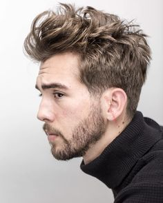 Beautiful tapered haircut with medium textures. #menshair #menshaircuts #haircutsformen #haircuts #coolhaircuts #menshairstyles #hairstylesformen #newhaircuts #mediumlengthhaircuts #menshaircuts2018
