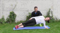 Jak běhat 3.díl. Zpevnění trupu posilováním břicha
