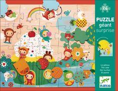 Djeco puzzle Surprise cake 24 pieces 3y