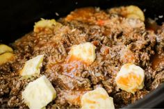 Kitchen Sink Crockpot Casserole is a family favorite casserole Family Fresh Meals, Easy Family Meals, Easy Weeknight Meals, Family Recipes, Quick Easy Meals, Best Slow Cooker, Slow Cooker Recipes, My Favorite Food, Favorite Recipes