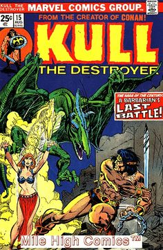 from $1.47 - Kull The Conqueror (1971 Series) #15 Very Good #Comics Book
