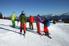 Das Panorama heute im snow space ist was für richtige Genießer - 24.2.2014