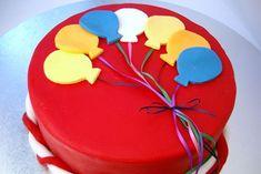 Balloon Birthday Cake | Cakes and Baking Recipes | Best Recipes