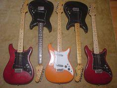 Fender Lead Guitars