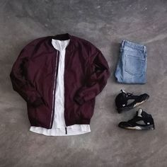Jackets can be a vital part of every man's clothing collection. Men will need outdoor jackets for assorted moments as well as some varying weather conditions Tomboy Fashion, Streetwear Fashion, Mens Fashion, Fashion Outfits, Fashion Styles, Swag Outfits Men, Cool Outfits, Casual Outfits, Hype Clothing