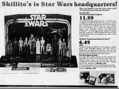 The Force was with Kenner's 'Star Wars' toys. Photo: Shillito's ad for the Early Bird Certificate for the Kenner Star Wars figures, as appeared in the Cincinnati Enquirer on October 21, 1977.  Enquirer file photo