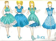 #fashionsketch #disney #princess #disneyprincess #aliceinwonderland