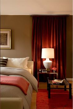 coral+and+brown+bedroom | ... bedroom is a beautiful combination of coral taupe and brown love it