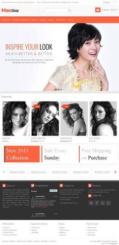 Max Shop Fashion Store OpenCart Theme